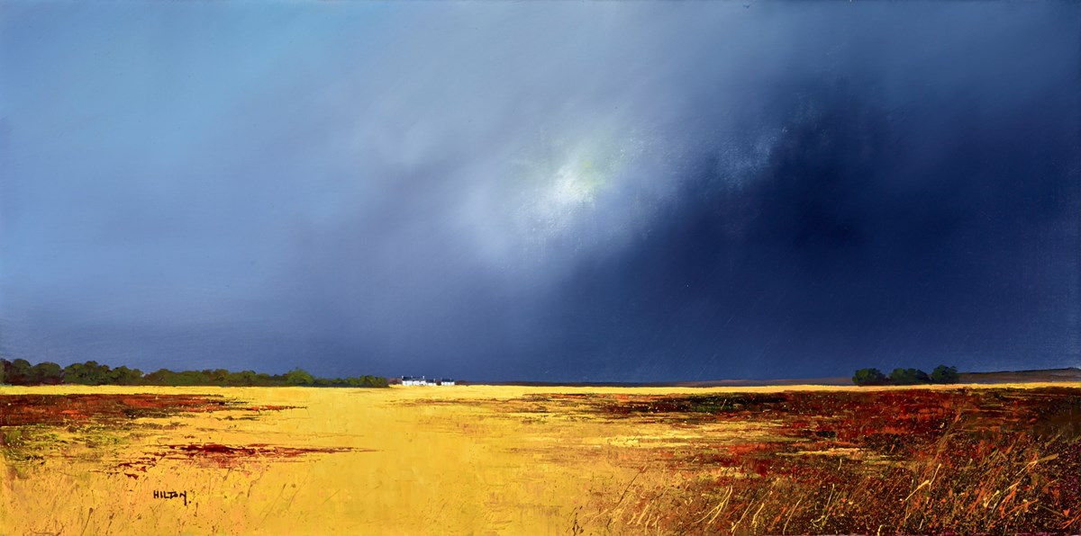 Moonlit Vista by barry hilton -  sized 39x20 inches. Available from Whitewall Galleries